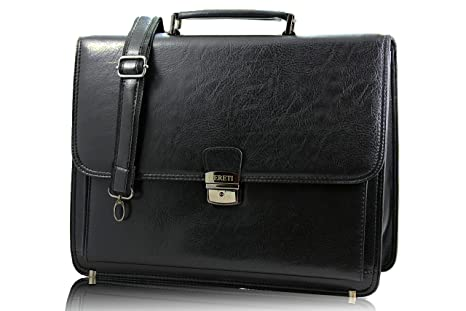 FERETI maletin para ordenador portatil negro
