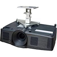 PCMD, LLC. Projector Ceiling Mount Compatible with Optoma EH334 EH335 EH336 HD143X HD152X WU334 WU336 (5-Inch Extension)