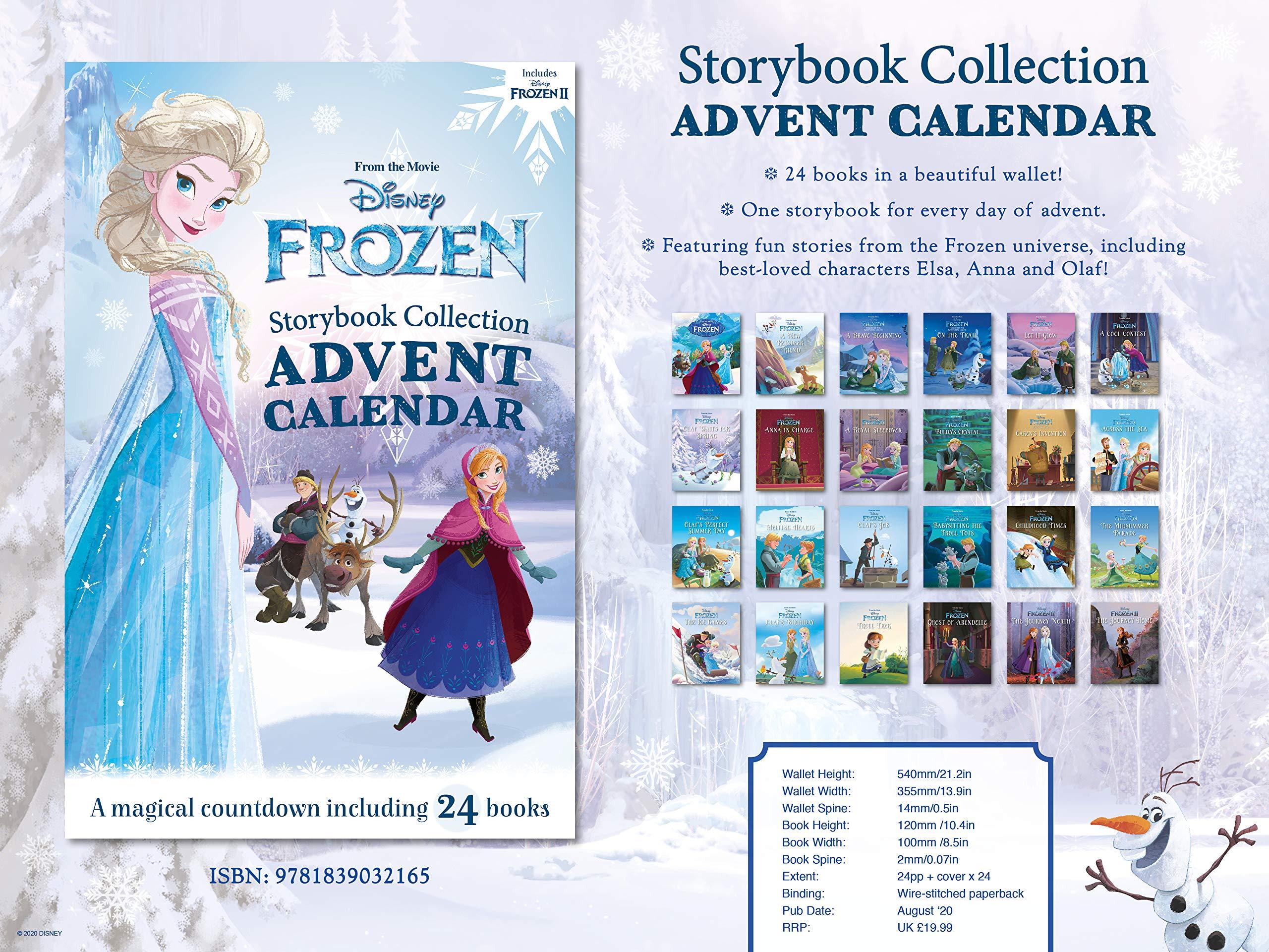 Disney Frozen Storybook Collection Advent Calendar 40% OFF £12 @ Amazon