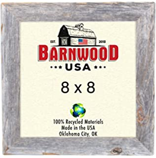 barnwoodusa picture frame 1 14 wide 100 up cycled reclaimed