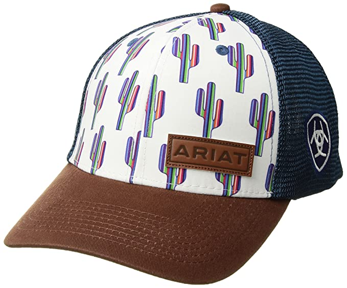c2dade3180b56 Image Unavailable. Image not available for. Colour  Ariat Women s Serape  Cactus Mesh Snap Cap ...