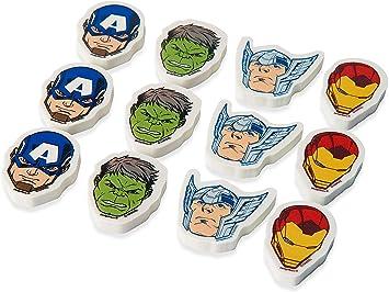 Marvel Epic Avengers™ Erasers, Party Favor