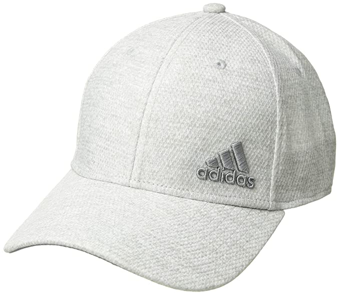 e079f0fd9 Amazon.com : adidas Men's Release Stretch Fit Structured Cap, jersey ...