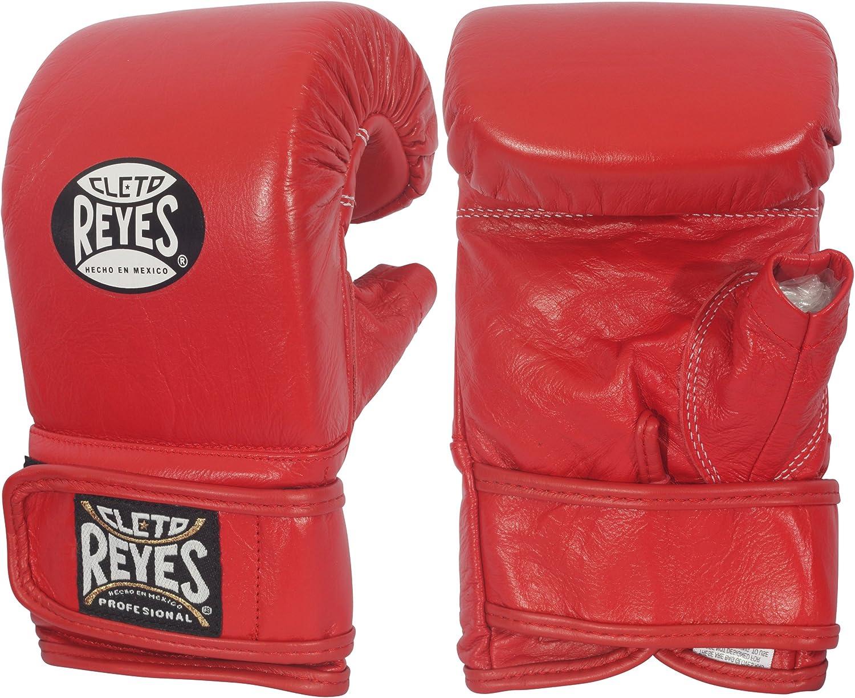 Ringside Cleto Reyesフック&ループ従来バッグ手袋 レッド XL