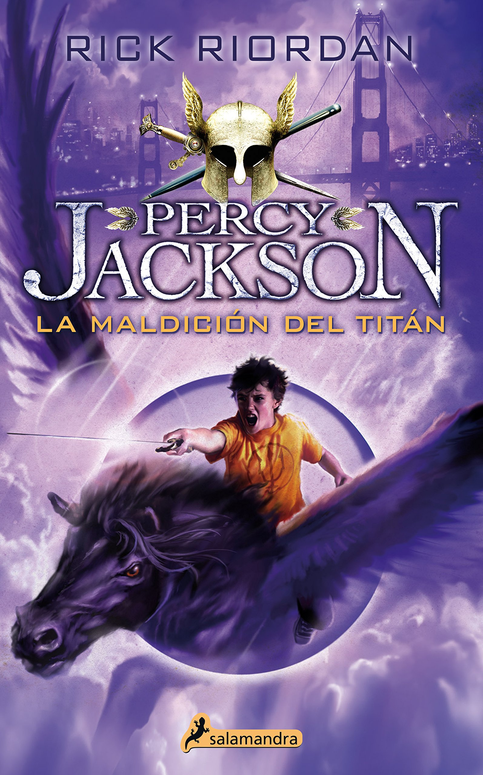 Percy Jackson 03. La maldicion del titan (Percy Jackson y los dioses del Olimpo / Percy Jackson and the Olympians) (Spanish Edition) by Rick Riordan