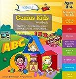 Genius Kids Worksheets for Nursery - Set of 8 Workbooks for Pre-KG, Nursery and Montessori (2-4 yrs) - Reading, Rhymes, Numbers, Games & Activities