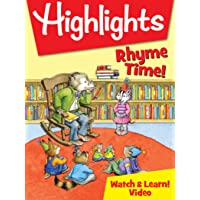 Highlights Watch & Learn!: Rhyme Time!