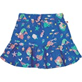 28194741eaab Piccalilly Girls Blue Premium Organic Cotton Jersey Skirt Mermaid Design