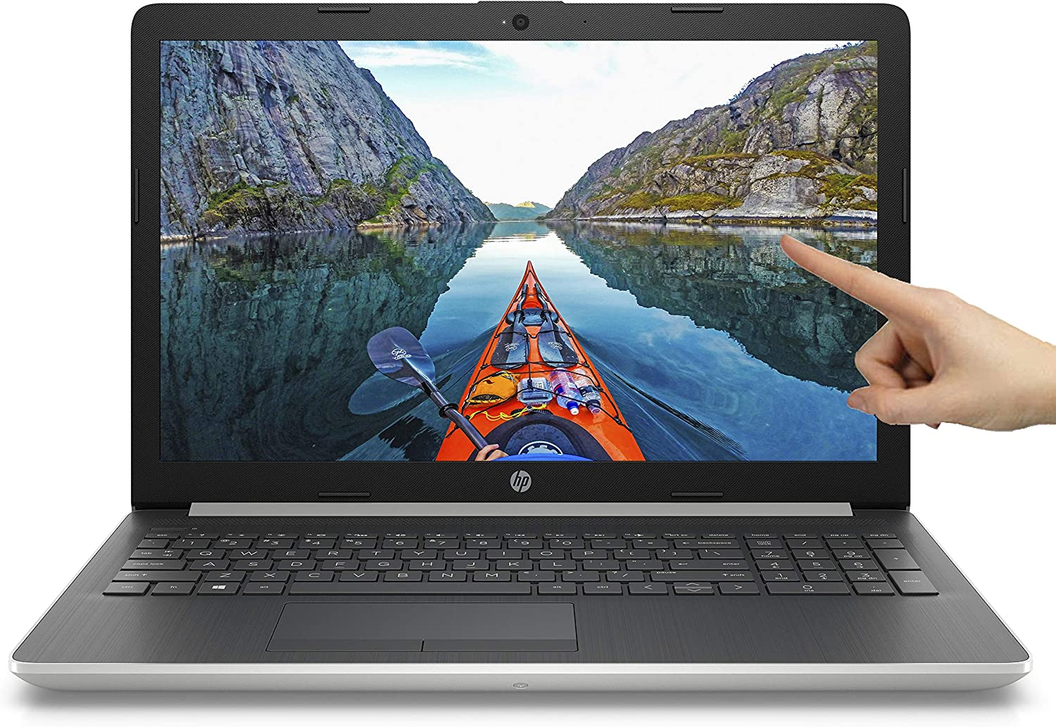 "HP 15.6"" HD Touch i7-8550U 4GHz 4GB DDR4 1TB HDD + 16GB Optane DVD Webcam Bluetooth HDMI Windows 10"