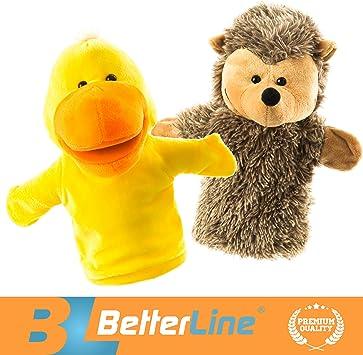 6Types Animal Hand Puppet Plush Dolls Preschool Storytelling Kindgerten Kid Gift
