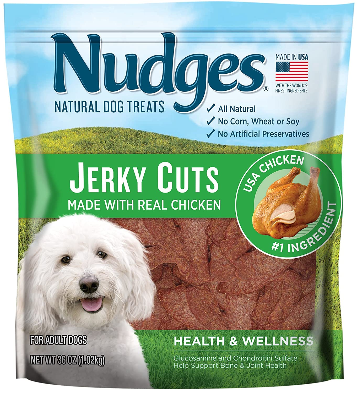 Nudges Health and Wellness Chicken Jerky Dog Treats