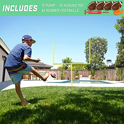 Amazon.com: GoSports Pro Kick Challenge - Juego de postes ...