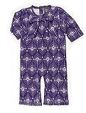 Kate Quinn Organics Unisex-Baby Bow Jumpsuit, 3-6M