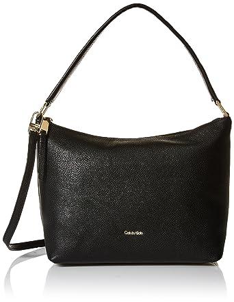 906f36303e Amazon.com  Calvin Klein womens Calvin Klein Angelina Pebble Leather ...