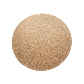 CORKery Decoupled Cork N Rubber Turntable Platter Mat