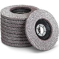 Hoogwaardige lamellenschijven │ 10 stuks │ Ø 125 mm │ korrel 40 │ Voor non-ferrometalen │ Voor aluminium…
