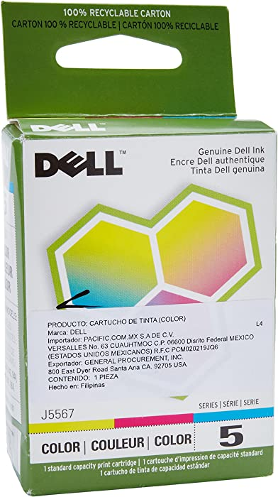 The Best Dell 6 Color Jf333 Ink Replacement Cartridges