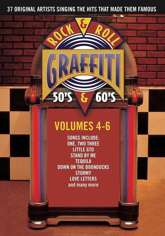 Rock roll graffiti vols 4 6 import amazon ca ray peterson dvd