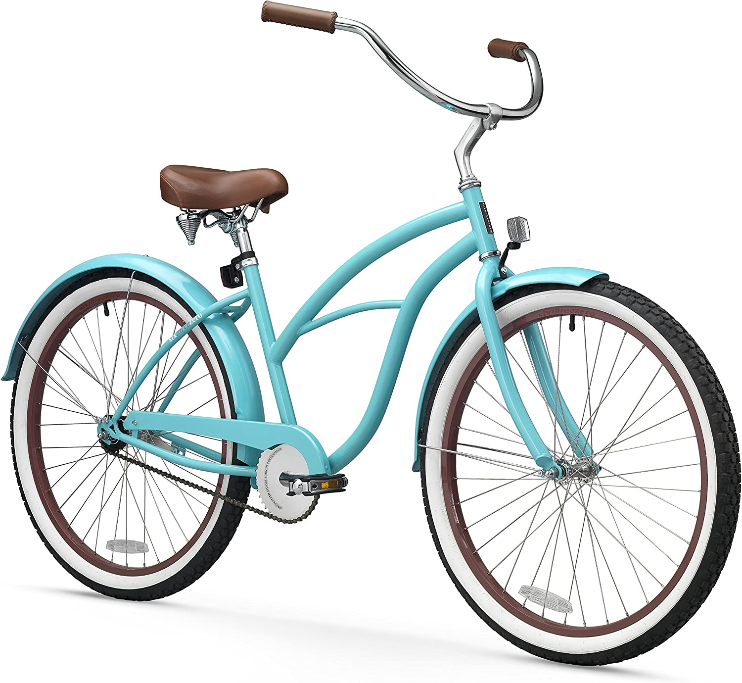 sixthreezero Women s Beach Cruiser Bicycle, 26 Wheels 17 Frame