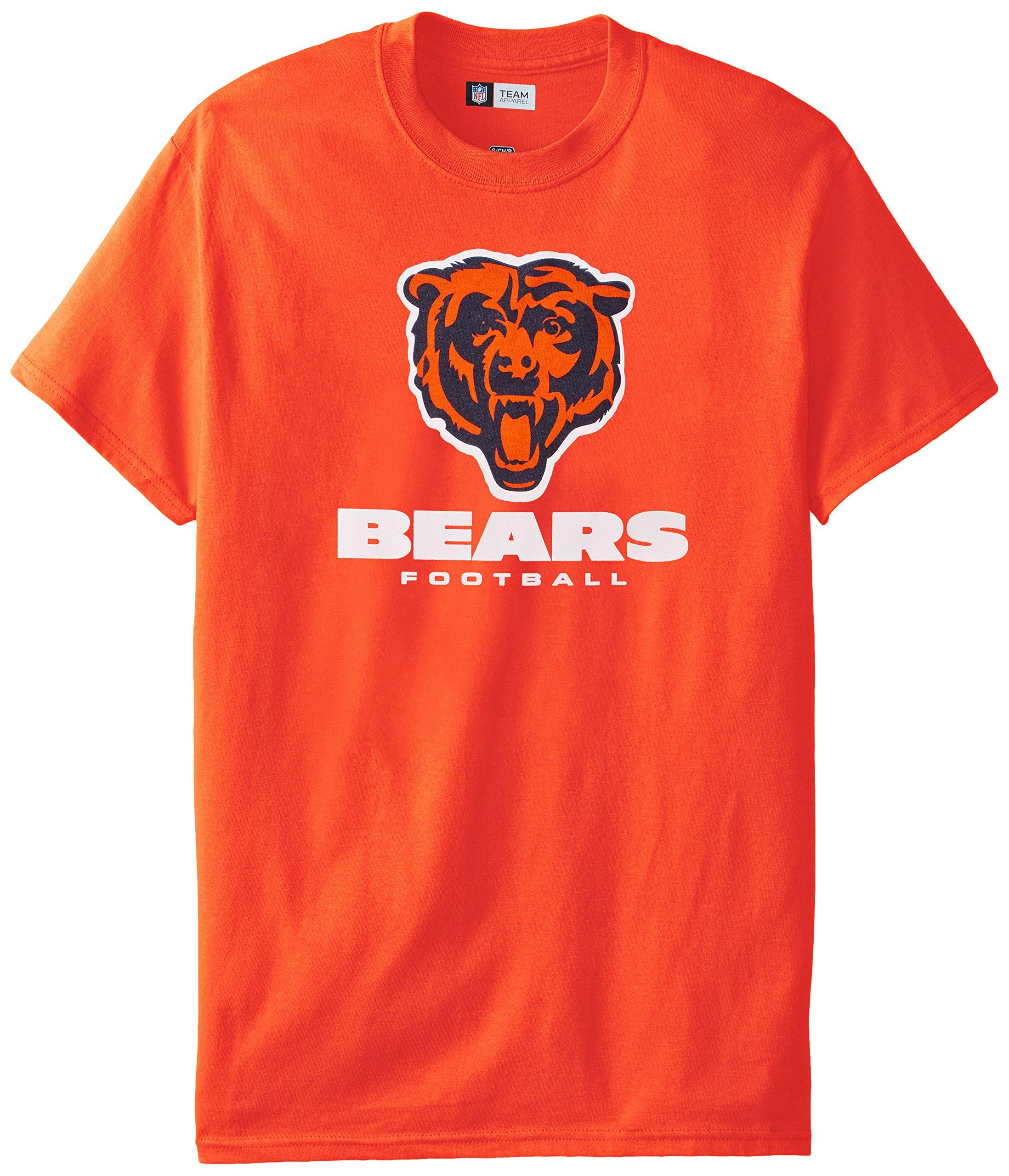 NFL Chicago Bears Men's UP4 Tee, Classic Orange, Large
