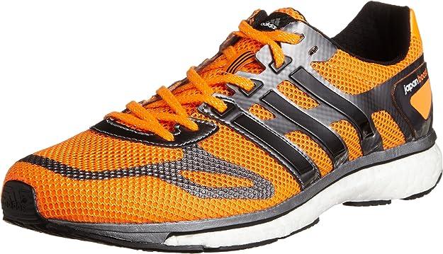 adidas Adizero Adios Boost - Zapatillas de correr, color Naranja, talla 48 EU: Amazon.es: Zapatos y complementos