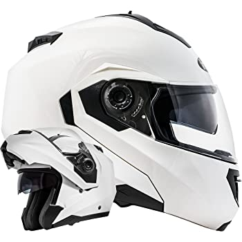 Motorradhelme sind nicht nur in Schwarz verfügbar, sondern unter anderem von Stark auch in Weiß.