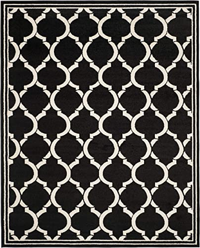 Safavieh Amherst Collection AMT415G Trellis Non-Shedding Stain Resistant Living Room Bedroom Area Rug