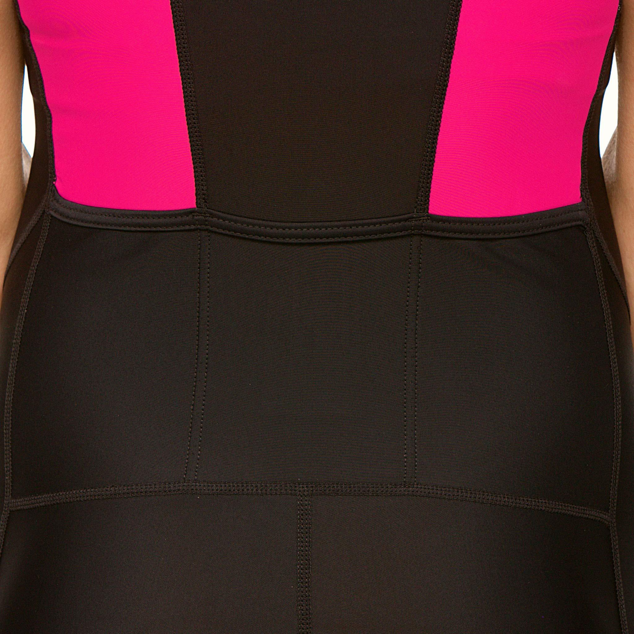 SLS3 Women`s Triathlon Tri Race Suit FRT | Womens Trisuit | Back Pocket Triathlon Suits | Anti-Friction Seams | German Designed (Black/Bright Rose, L) by SLS3 (Image #7)