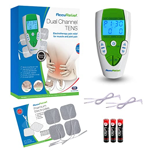 AccuRelief Dual Channel TENS Electrotherapy
