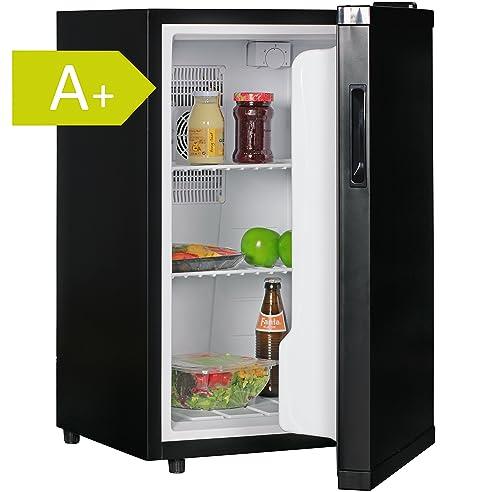 amstyle minikühlschrank 65 liter minibar schwarz freistehender