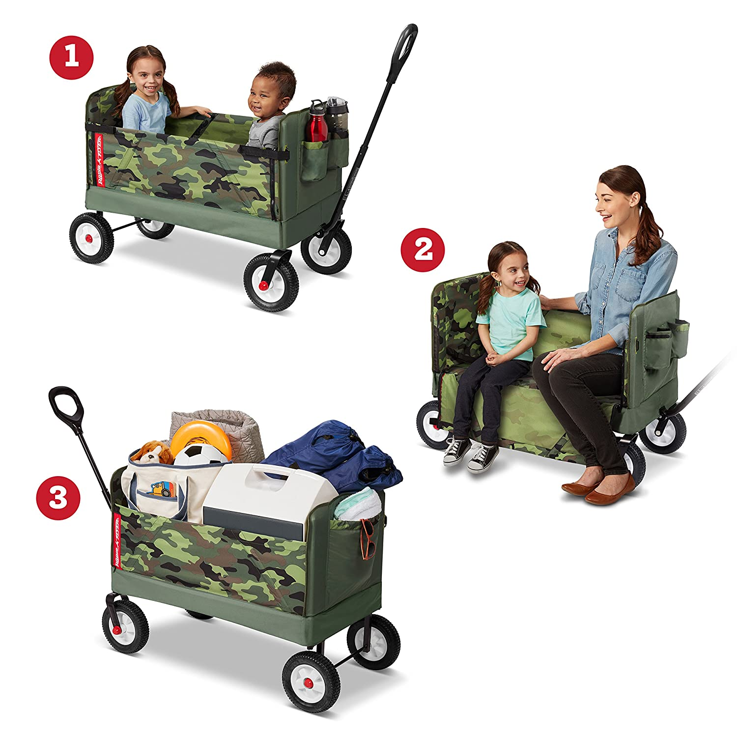 Radio Flyer EZ Fold Camo Wagon ONLY $69.99 Shipped (Reg $100)