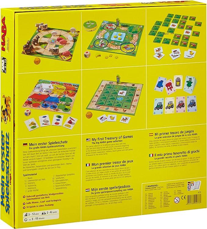 Haba Mi primer tesoro de juegos La gran colección de juegos de ...