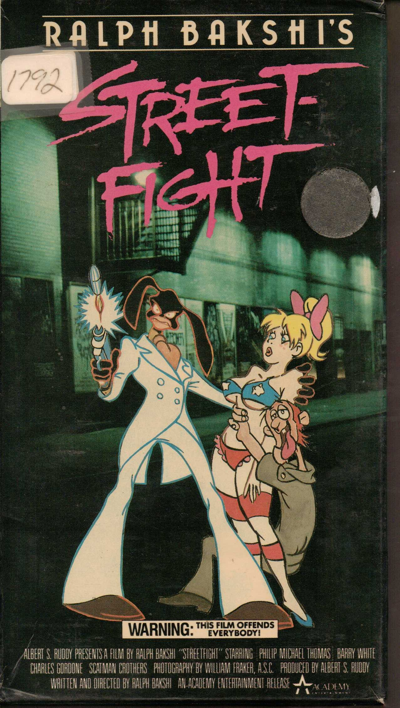 Street Fight (Coonskin / Bustin' Out) [VHS] by Academy Home
