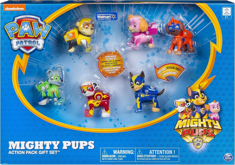 PAW PATROL Mighty Pups Action Pack Set de Regalo: Amazon.es: Juguetes y juegos