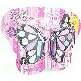 SPEEDEVE Conjunto de Maquillaje para niñas, Forma de Mariposa(D139942)