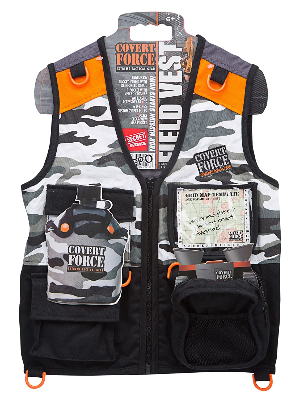 amazon com covert force tactical field vest toys u0026 games