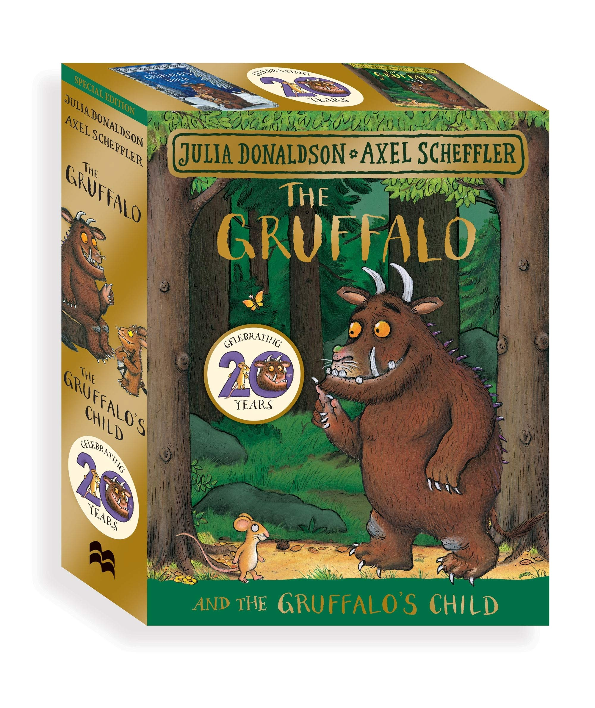 Donaldson, J: Gruffalo and the Gruffalos Child Board Book G: Amazon.es: Donaldson, Julia, Scheffler, Axel: Libros en idiomas extranjeros