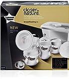 TOMMEE TIPPEE Manual Pump Breastfeeding Kit, White
