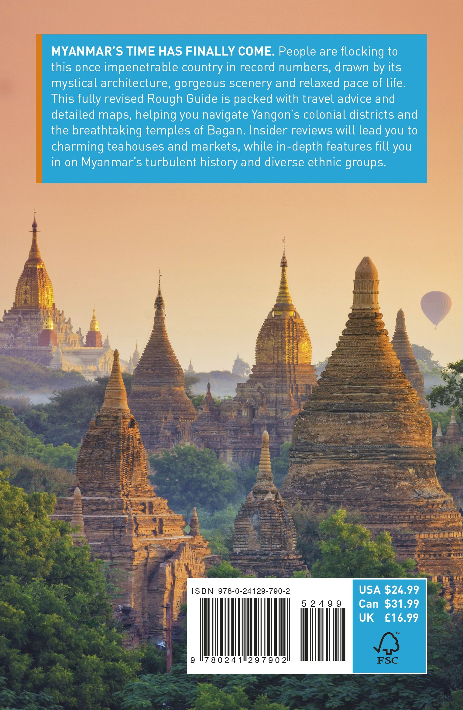 f4a01281f8 The Rough Guide to Myanmar (Burma) (Travel Guide) (Rough Guides) Paperback  – 2 Nov 2017