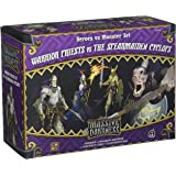 CMON Massive Darkness: Heroes & Mosters Set: Warrior Priests Vs. the Spearmaiden Cyclops Board Games