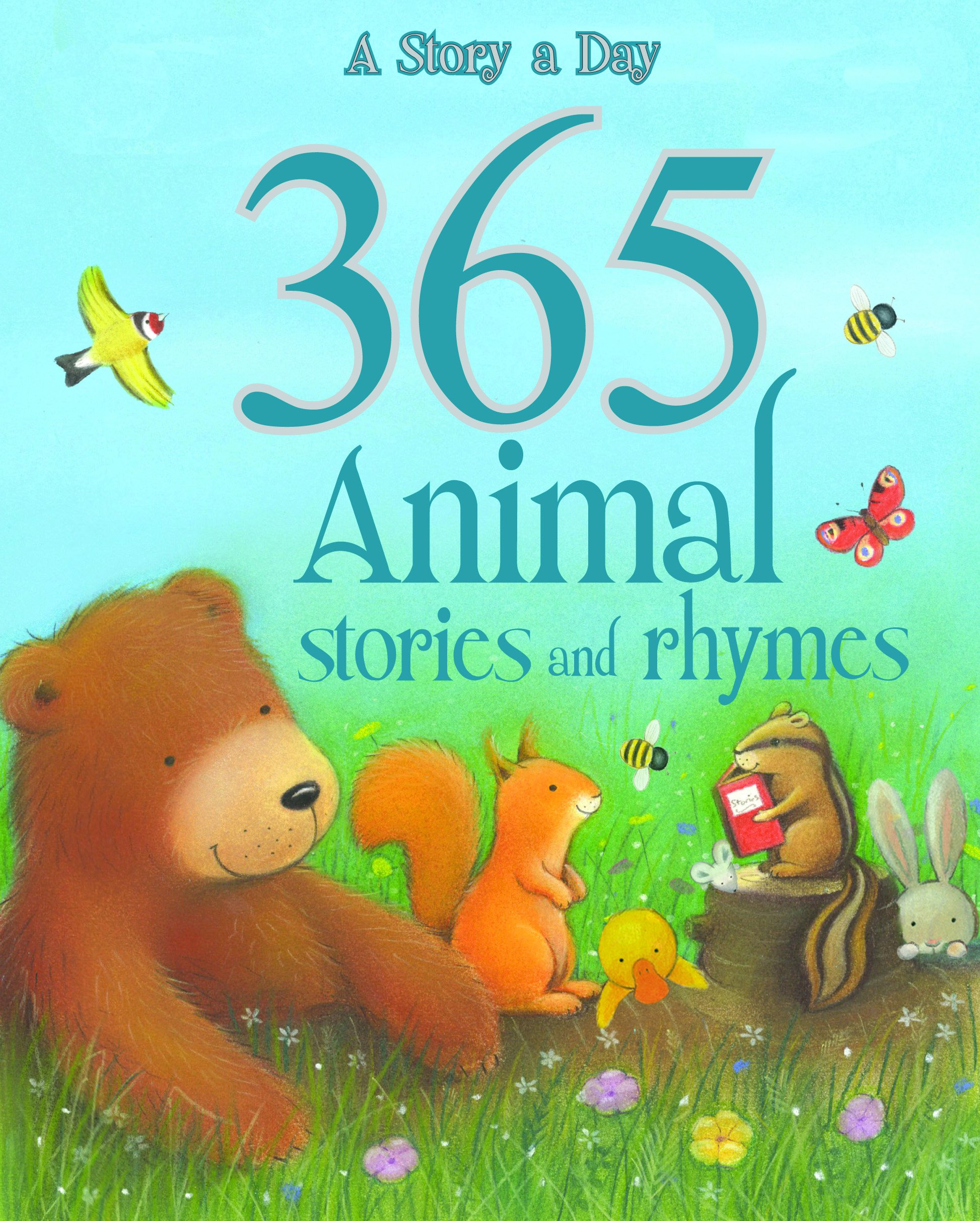 Uncategorized Animal Stories 365 animal stories and rhymes parragon 9781445445496 amazon com books
