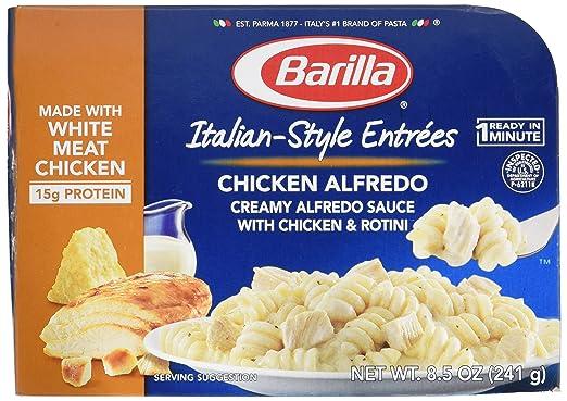 Barilla, estilo italiano Entree, pollo Alfredo, Microondas ...