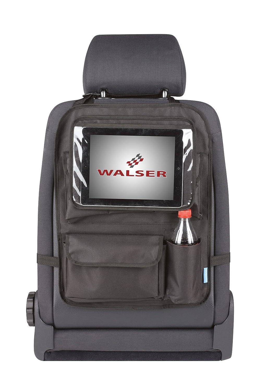 Walser 26146 - Bolsa para Parte Trasera del Asiento con Soporte para Tablet, Color Negro Walser GmbH