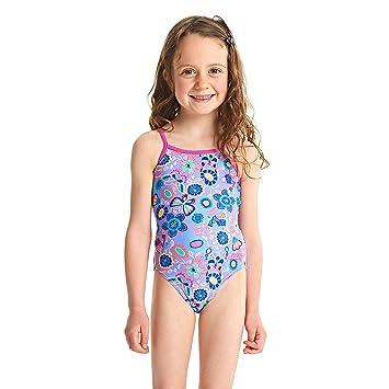 bd7a975b2 Zoggs Bañador para niñas Wild Yaroomba bañador Flores  Amazon.es  Deportes  y aire libre