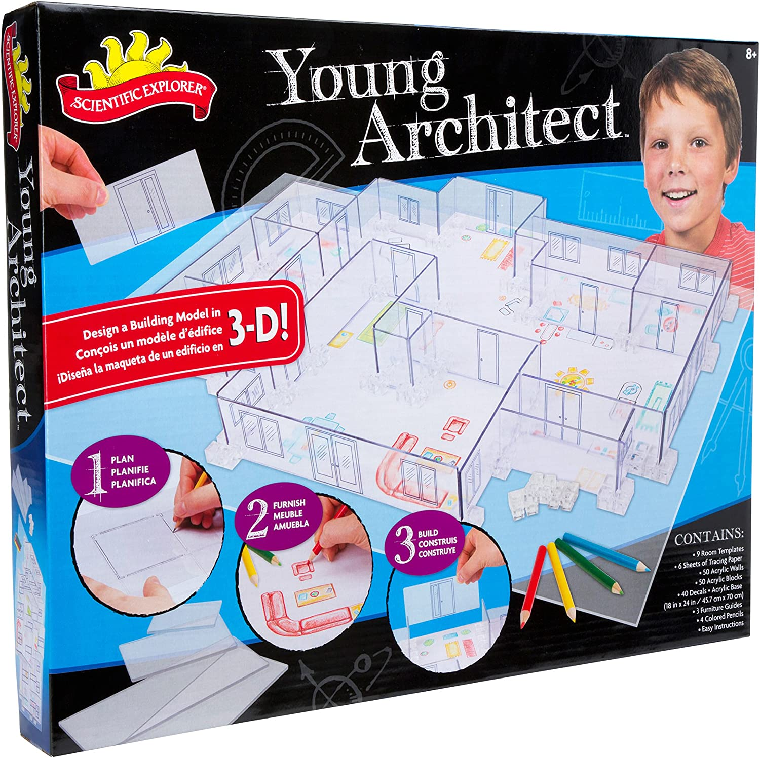 Amazon Com Young Architect Toys Games