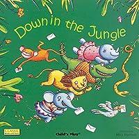Down in the Jungle: Board book