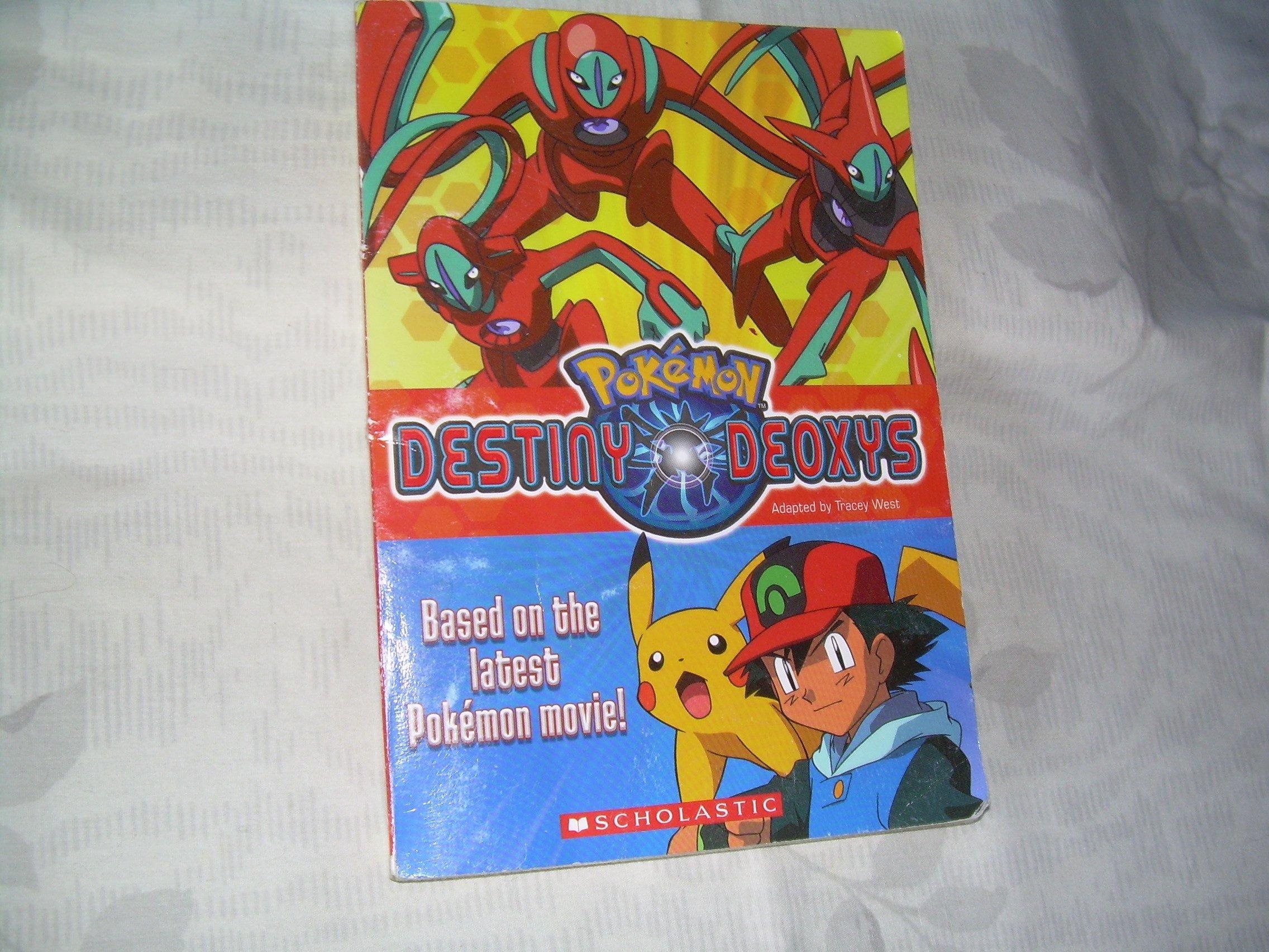 Pokemon Destiny Deoxys Tracey West 9780439741453 Amazon Com Books