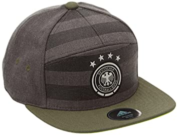 adidas Football Hats and Anarchy Cap grey Dark Grey Heather/Base Green S15/ Solar