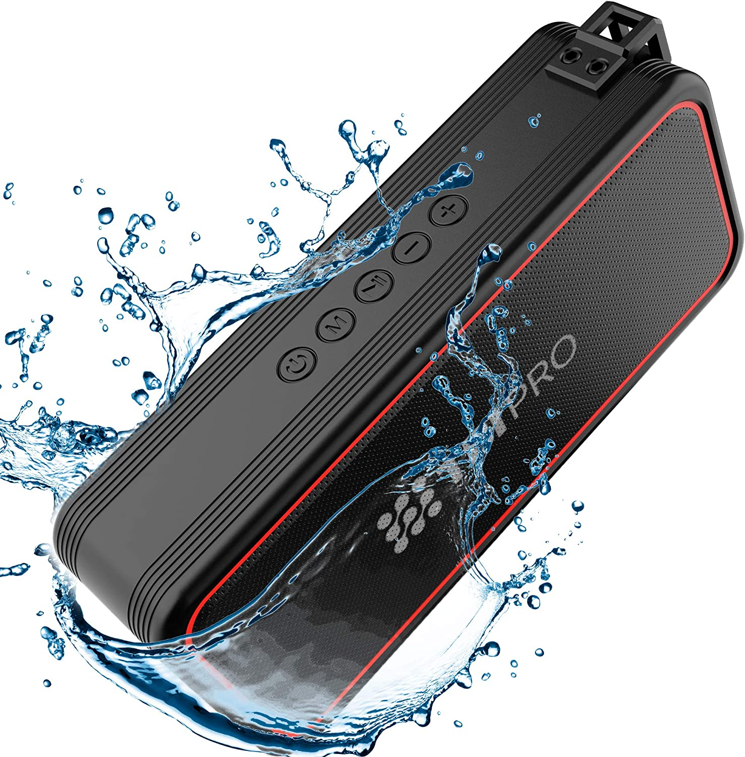 Amazon Com Tbi Pro Powerful 20w Bluetooth Speaker Model 2020 Ipx7 Waterproof 24 Hours Battery Portable Indoor Outdoor Deep Bass Wireless Speakers With Mic Loud True Stereo Sound