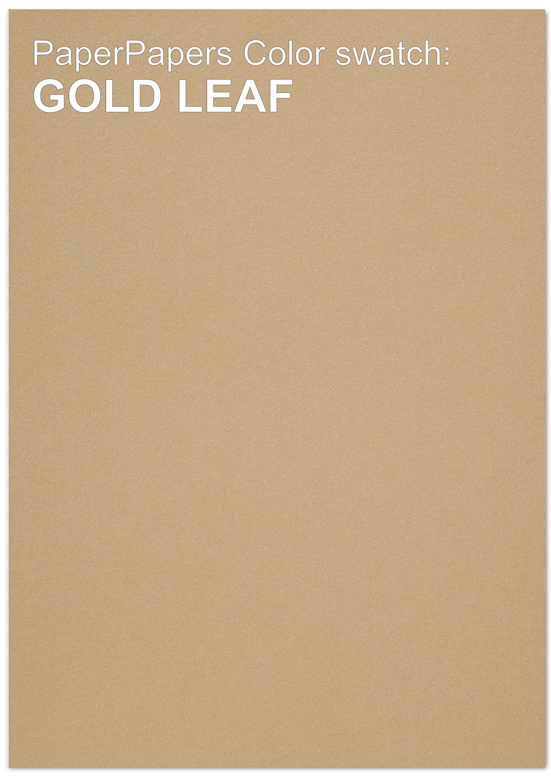Curious Metallic - ANTIQUE GOLD LEAF 12X18 Multipurpose Paper - 32lb Text - 200 PK by Paper Papers